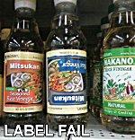 Label Fail